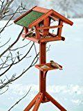 4 Bauanleitungen für Vogelhäuser: Bauen Sie ein Vogelhaus aus Ästen oder verschiedene Vogelhäuschen aus Holz zum Aufhängen oder Aufstellen.