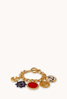 #ForeverHoliday  Out At Sea Charm Bracelet | FOREVER 21 - 1000129334