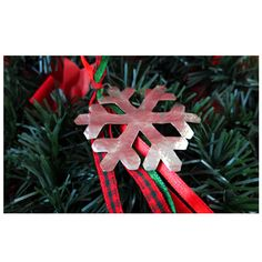 Snowflake made by wrought alpaca. Christmas decoration. Christmas ornament. Holiday decoration. Christmas tree.Handmade Christmas creations. by UniqueJeweleryDeco on Etsy