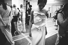 JW Anderson S/S 2014 Backstage.