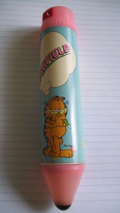 Garfield Pencil Case Tube (1978)