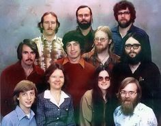 Microsoft staff photo from December 7, 1978