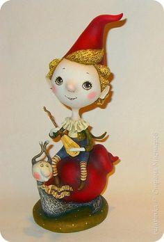 Куклы Папье-маше Вместе весело  Бумага фото 1