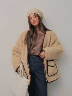 Winter Outfits, Casual Outfits, Cute Outfits, Fashion Outfits, Womens Fashion, Korean Street Fashion, Asian Fashion, Aesthetic Fashion, Aesthetic Clothes