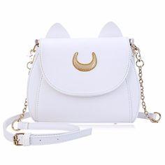 Sailor Moon Black Luna Cat Handbag