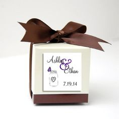 100 Mason Jar with Butterfly Favor by creatingapapermemory on Etsy