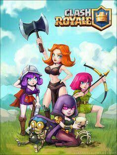 Clash royale Girl