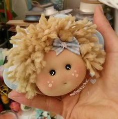 Best 12 Hand made Personalized Gifts – Puppet – Wedding Favors, Baby Favors, Dolls … Tiny Dolls, Soft Dolls, Baby's First Doll, Baby Dolls For Kids, Baby Favors, Bird Party, Fabric Animals, Felt Christmas Ornaments, Doll Hair