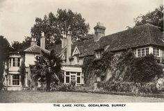 The Lake Hotel, Godalming, Surrey Lake Hotel, Honeymoon Hotels, Vintage Pictures, Surrey, Vintage Postcards, Architecture Design, Past, Art Photography, England