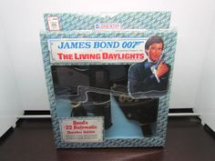 Vintage The Living Daylights James Bond 007 Walther PPK Cap Gun with Shoulder Holster - Mint in Packaging MIP - Unopened Brand New!