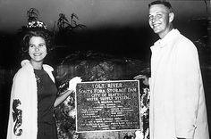 Tolt River South Fork Storage Dam dedication, 1964