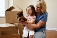 Moving with children can be hard for families. Check out these anxiety reducing tips for your next move
