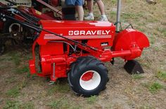 Gravely Pro with the stump grinder attachment