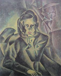 Bohumil Kubišta - Portrait of Jan Zrzavý, 1912 Ernst Ludwig Kirchner, Georges Braque, Art For Art Sake, Beautiful Paintings, Art Google, Modern Art, Art Photography, Fine Art, Central Europe
