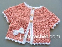 Free baby crochet pattern summer cotton top uk – For Babies, shorts, shoes, pants, fashion dress and much Crochet Cardigan Pattern, Crochet Stitches Patterns, Crochet Designs, Baby Patterns, Summer Patterns, Baby Girl Crochet, Crochet Baby Clothes, Newborn Crochet, Baby Kind