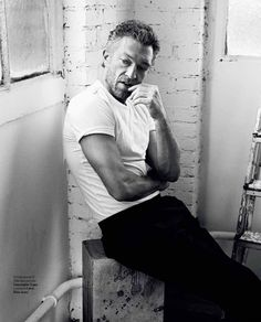 Thinking Man | Vincent Cassel by Pablo Estevez and Javier Belloso Icon Magazine