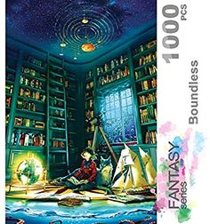 Countdown to Christmas 27 x 20 Artist is David Krustkamp 1000 Piece Limited Edition Jigsaw Puzzle Made by Ravensburger Multi