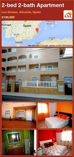 2-bed 2-bath Apartment in Los Dolses, Alicante, Spain ►€130,000 #PropertyForSaleInSpain