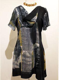 painted silk warren dress http://carolewaller.co.uk/garments/