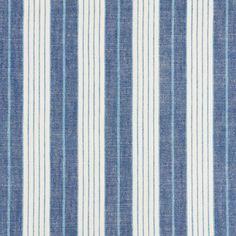 Schumacher X Vogue Living Horst Stripe Fabric in Delft Luxury Flooring, Vogue Living, Striped Fabrics, Schumacher, Fabric Wallpaper, Delft, Fabric Samples, Custom Pillows, Rugs On Carpet