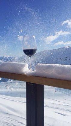 Salud desde Valle Nevado, Chile