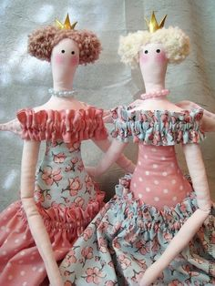 These two look like the wicked step sisters.
