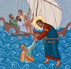 """This is Not the Time for Dad Jokes, Jesus - Funny memes that """"GET IT"""" and want you to too. Get the latest funniest memes and keep up what is going on in the meme-o-sphere. Funny Jesus Memes, 9gag Funny, Funny Fails, Hilarious, Church Memes, Catholic Memes, Classical Art Memes, Funny Christian Memes, Christian Humor"""