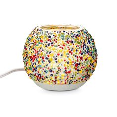 Electric Warmer shimmers with the vibrant colors of a spirited glass mosaic. Place ScentPlus Melts, sold separately, in the glass dish for a room full of rich scent. Partylite, Electric Warmer, Shops, Candle Companies, Glass Dishes, Mosaic Glass, Decoration, Led, Decorative Bowls