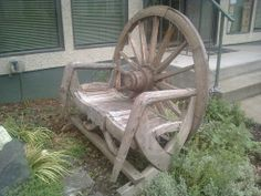 Re-purpose old items in new and interesting ways. #garden #DIY