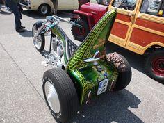 Trike Chopper, Trike Motorcycle, Custom Trikes, Custom Motorcycles, Motorized Tricycle, 3rd Wheel, Sin City, Choppers, Sport Bikes