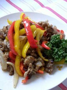 「豚肉とピーマンの甘酢炒め」東雲えーあんどえむ   お菓子・パンのレシピや作り方【corecle*コレクル】