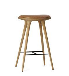 Mater - High stool Premium Edition - sæbebehandlet eg