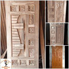 Modern Wooden Doors, Wooden Door Design, Modern Door, Main Entrance Door, Entry Doors, Timber Door, Aluminium Doors, Types Of Rooms, Bathroom Doors