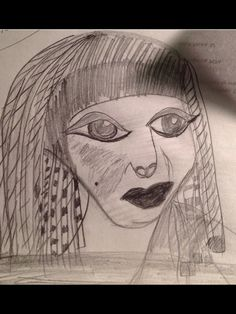 Cleopatra picture    But looks like Queen helper in the Ten Commandments