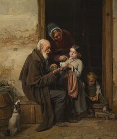A precious gift - Major Waldmüller painting sold at Dorotheum ...