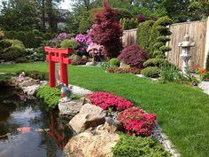 Mit Ambiente auf 70 m2 wohnen! Dortmund - Unser blühender Japangarten ist auch für Sie ein Ort der Entspannung!