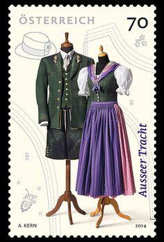 Österreich stamp