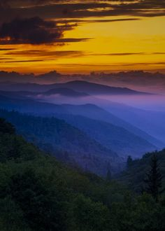 Beautiful day or night - Smoky Mountains
