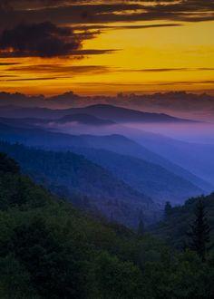 Beautiful day or night - Smoky Mountains