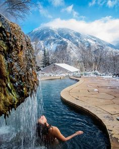6 (More) Stellar Hot Springs in Colorado Dip into these lesser-known hot waters throughout the Centennial State. Road Trip To Colorado, Visit Colorado, Colorado Hiking, Moving To Colorado, Estes Park Colorado, Durango Colorado, Aspen Colorado, Boulder Colorado, Colorado Springs