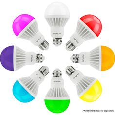 Nyrius Debuts Smart LED Light Bulb for Under $40 These smart LED light bulbs use Bluetooth 4.0 to tweak lighting levels, colors, and more.