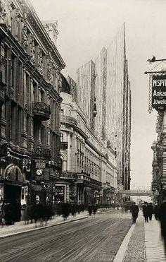 Friedrichstrasse Skyscraper Project...1921 Mies van der Rohe.