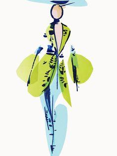 shu84: Tobie Giddio Fashion Illustrations