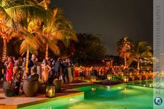Rosewood Mayakoba, Reception by the pool