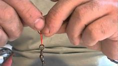 nudos para pescar con caña - YouTube