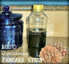 Homemade Pancake Syrup Recipe