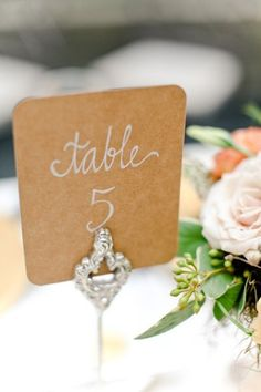 brides of adelaide magazine - table number - wedding decorations - centrepiece - wedding table number