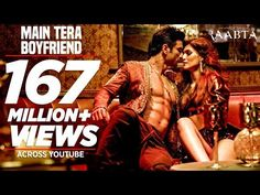 "Presenting Main Tera Boyfriend Song from the Bollywood movie ""Raabta"" a film by Dinesh Vijan and Produced by Dinesh Vijan Homi Adajania Bhushan Kumar Krishan. Songs For Dance, New Hindi Songs, Dance Music, Music Songs, Bollywood Music Videos, Hindi Bollywood Movies, Songs For Boyfriend, Sushant Singh, Song Playlist"