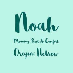 Noah - Predicting the Most Popular Boy Baby Names for 2017 - Photos