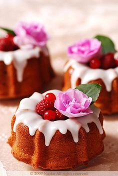 Um bolo delicioso...